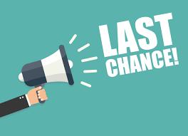 Last Chance!  Please take this important survey