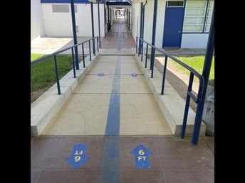 Directional Signage in the Hallways