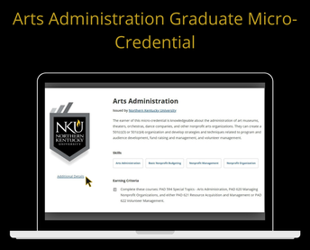 New Arts Admin Micro-Credential