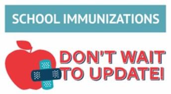4K and 5th grade Immunizations