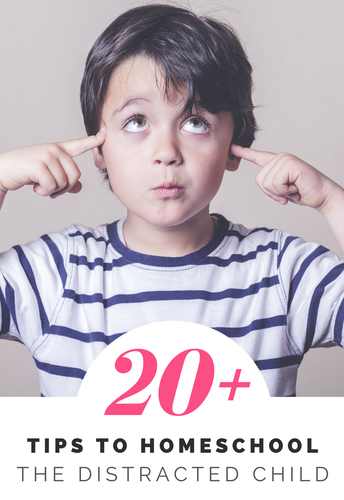 20 Tips to Homeschool The Distracted Child