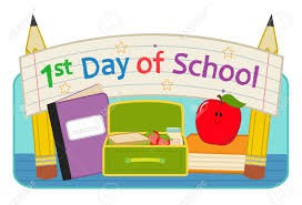 First Day of School - September 2, 2020