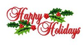 Happy Holidays from the William Tell Elementary Staff!