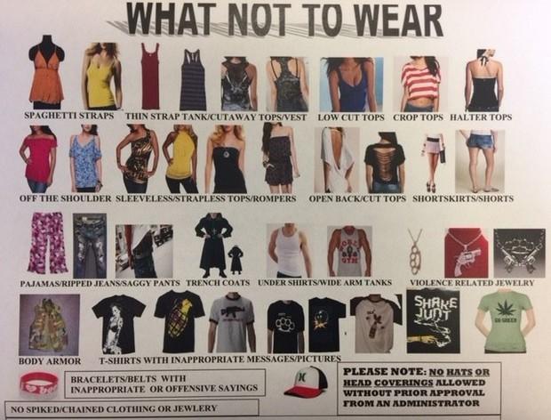 Dress Code Flyer