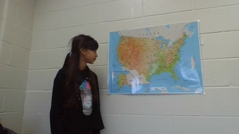 Giving the National Weather Forecast!