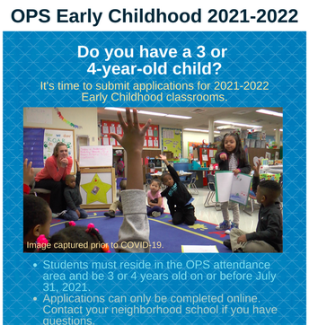OPS Early Childhood Application