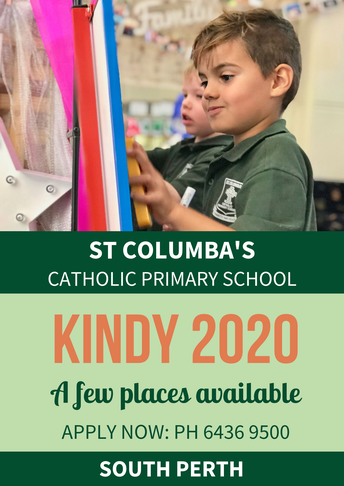 Kindy 2020 Places Available