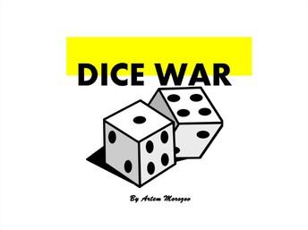 Dice Game of War