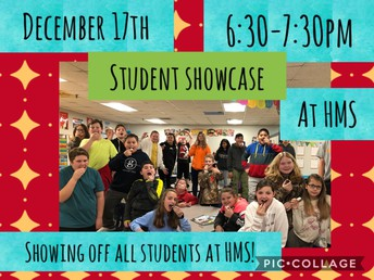 December 17th student showcase!