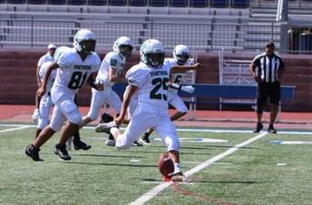 Kicking Off at the Varsity Football Game