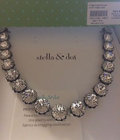 VINTAGE Crystal NECKLACE > $47 (NEW)