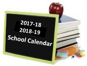 2017-18 & 2018-19 STUDENT CALENDAR