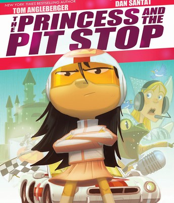 The Princess and the Pit Stop by Tom Angelberger