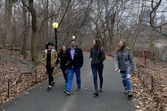 Strolling Central Park