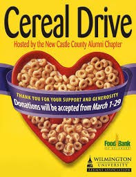 Cereal Drive ~ Thank You