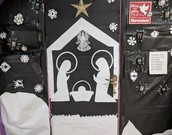 The Christmas Door Contest is on Thursday!!