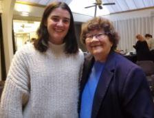 Vanessa (DRS) with Joy Cowley!