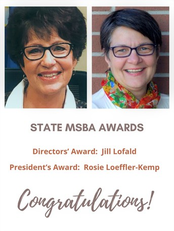 State MSBA Recognition
