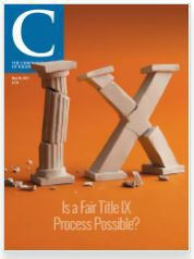 May 28 2021 cover of The Chronicle of Higher Education