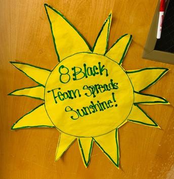 Spreading Sunshine at Chisholm
