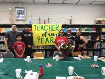 Teacher of the Year-Ms. Gomez (PreK Teacher)