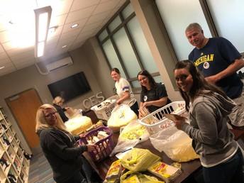PTO Popcorn Volunteers