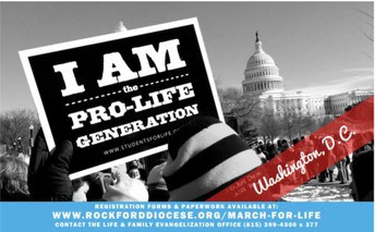 March for Life!  January 16-20, 2019
