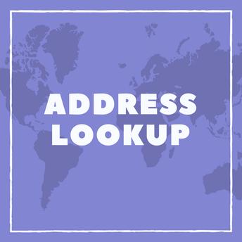 Address Lookup