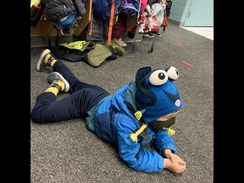 Taking a moment to pause in Kinderland