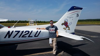 SCHS Cadet Reaches New Heights with Pilots' License