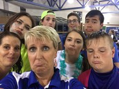 Rained out Football Game Selfie
