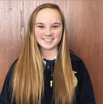 Wetzel Earns First Place at FFA State