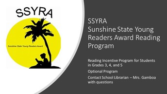 Sunshine State Young Readers Award Reading Programs