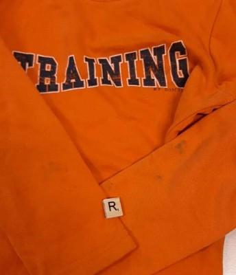 R- oranje trui training