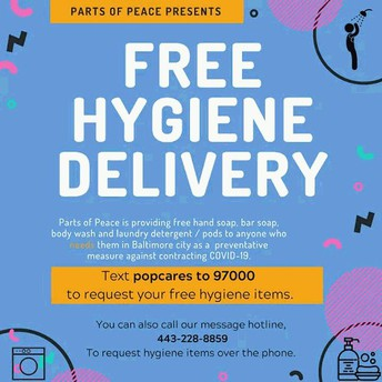 FREE HYGIENE DELIVERY