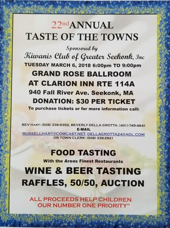 Taste of The Towns is here again!