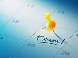 Final Exams Schedule (Updated)