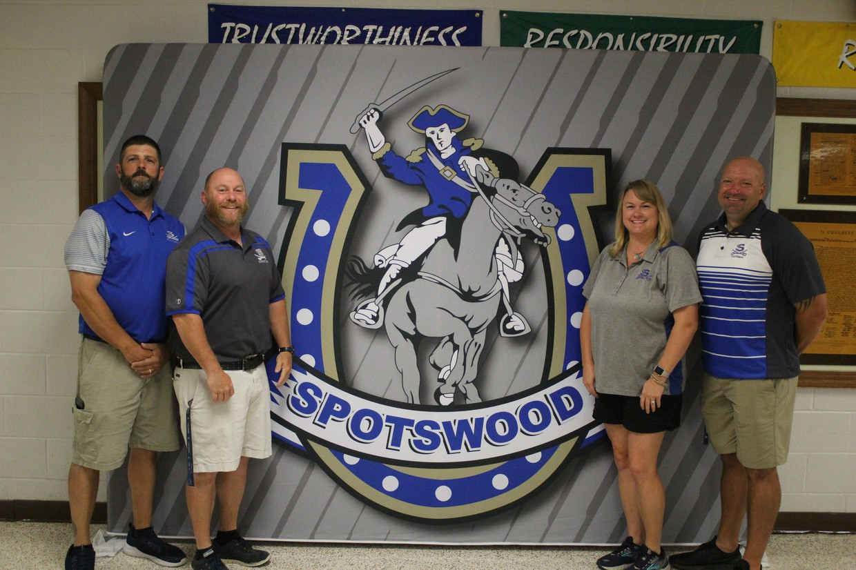 Photo of SHS Health and PE staff.