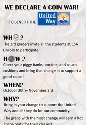 United Way Coin Drive