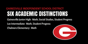 GISD EARNS SIX ACADEMIC DISTICTIONS