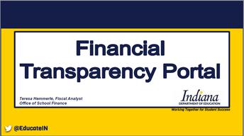 Financial Transparency Portal
