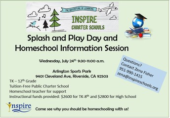 Splash Pad Info Session in RIVERSIDE