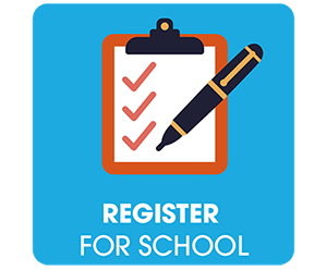 Register for School by Wednesday