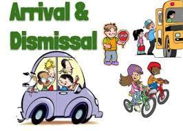 Arrival/Dismissal Information--Parent Drop Off/Pick Up