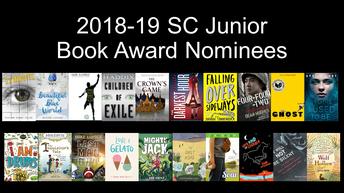 SC Junior Book Award Reading Program