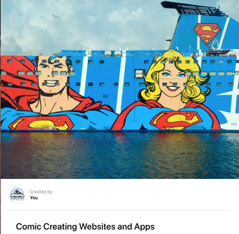 Creating Resources- Comic Creation Sites