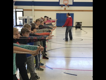 Family Archery Night for 4th and 5th Grade Families