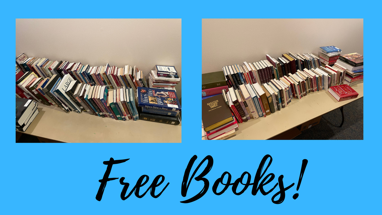 Free Books Available