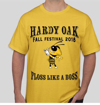 Fall Festival T-shirts to wear as spirit shirt on November 9th