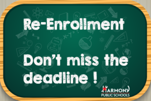 RE-ENROLLMENT PERIOD IS OPEN